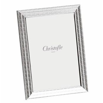 """Filets Photograph frame, 18 x 24cm (7 x 9 1/2""""), Christofle silver"""