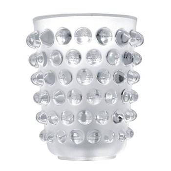 Mossi Vase, H21 x D17.8cm, clear
