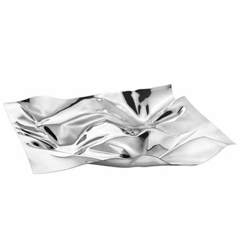 Masterpieces - Panton Design 1302 Tray small, stainless steel