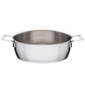 Pots & Pans by Jasper Morrison Low casserole, 24cm, stainless steel