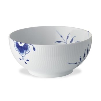 Blue Fluted Mega Bowl, 15cm