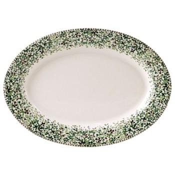 Songe Oval platter, 37 x 26cm