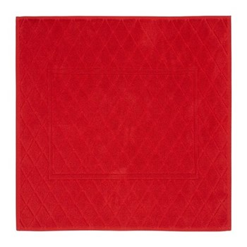 Angel Bath mat, red
