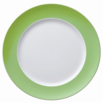 Sunny Day Plate, 22cm, apple green