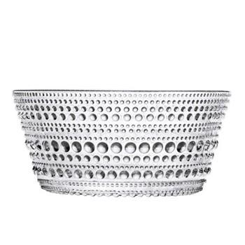 Kastehelmi Set of 6 bowls, 23cl, clear