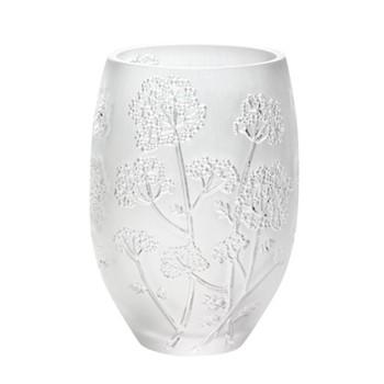 Ombelles Vase, H17.5 x D13cm, clear
