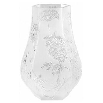 Ombelles Vase, H29 x W 19.2cm, clear