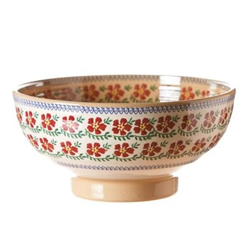 Old Rose Salad bowl, D28 x H15cm