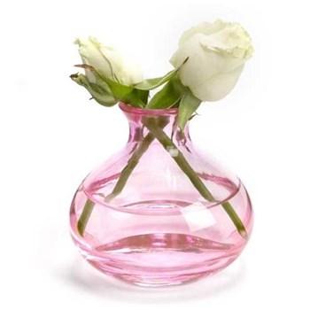 Jewel Bud vase, pink sapphire