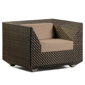 Armchair with cushion H78.5 x W96 x D90cm