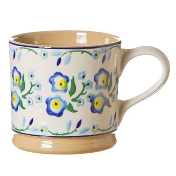 Forget Me Not Set of 4 large mugs, H9cm