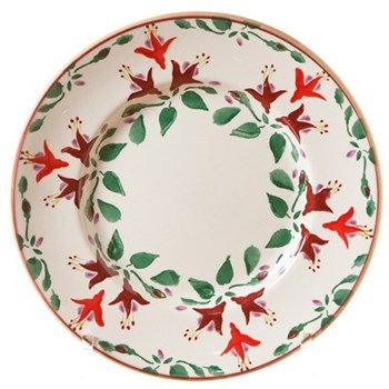 Fuchsia Salad/lunch plate, D21cm
