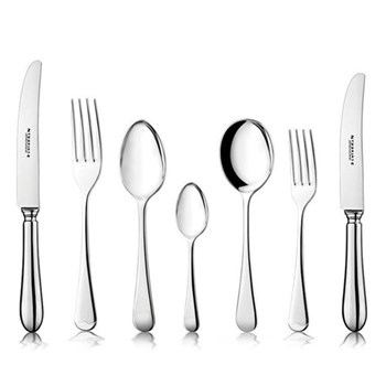 Old English 7 piece place setting, EPNS