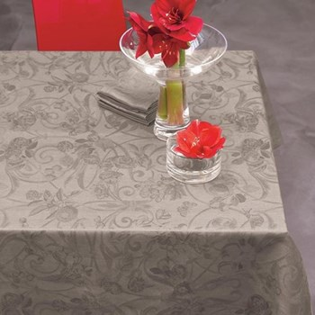 Tivoli Tablecloth, 175 x 250cm, grey pepper