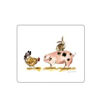 Pigs - Melamine Range Set of 6 tablemats, 24 x 20cm