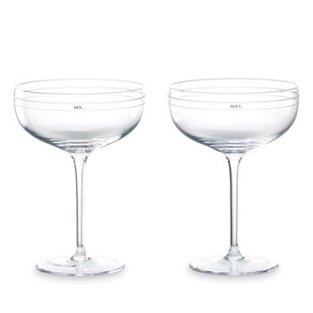 Darling Point Pair of Champagne saucers