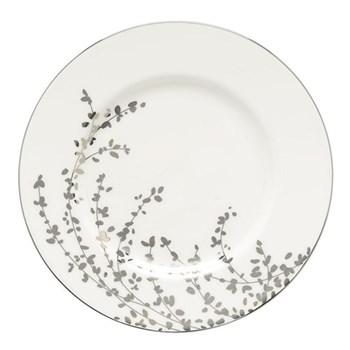 Gardner Street Platinum Accent plate, 23cm