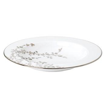 Gardner Street Platinum Pasta/rim soup plate, 23cm