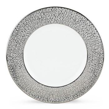 June Lane Platinum Accent plate, 23cm