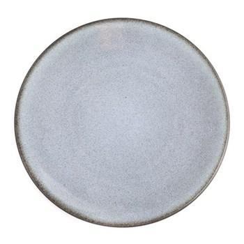 Tourron Pair of dinner plates, 26cm, gris ecorce