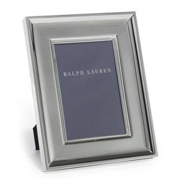 "Cove Photograph frame, 4 x 6"", silver plate"