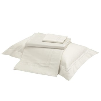 Doppio Ajour Pillowcase, regular, cream