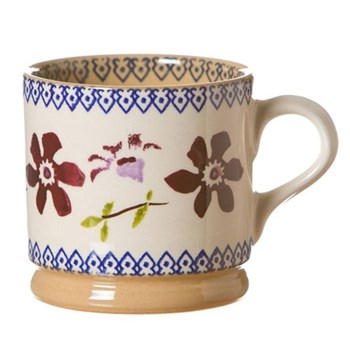 Clematis Set of 4 small mugs, H7cm