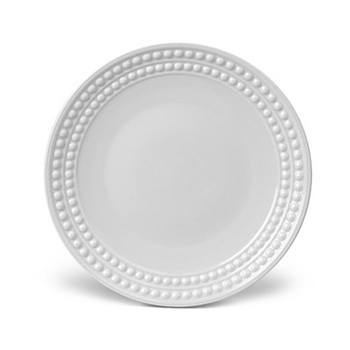 Perlee Dessert plate, 22cm, white