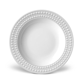Perlee Soup plate, 23cm, white