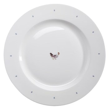 Chicken - Solo Set of 4 plates, 10""