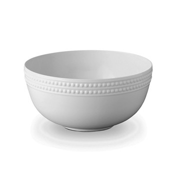 Perlee Serving bowl, 23cm, white
