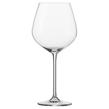 Fortissimo Set of 6 Burgundy glasses, large