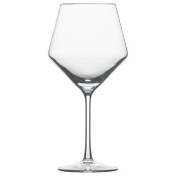 Set of 6 Burgundy glasses