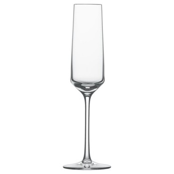 Pure Set of 6 sparkling wine/champagne flutes