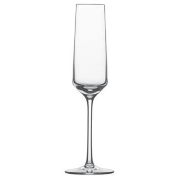 Set of 6 sparkling wine/champagne flutes