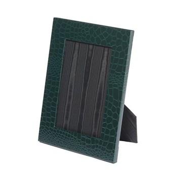 """Oyster Bay Photograph frame, 7 x 5"""", green lizard"""