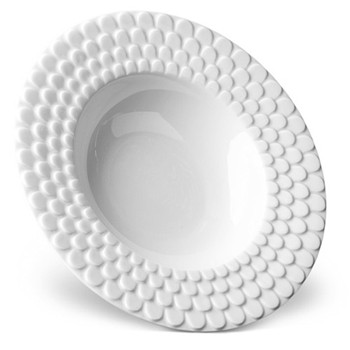 Aegean Serving bowl rimmed, 37cm, white