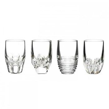 Mixology Set of 4 shot glasses, 10.5cm, clear