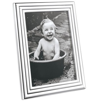 "Legacy Photograph frame, 5 x 7"", stainless steel"