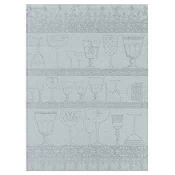 Cristal Set of 4 tea towels, 80 x 60cm, mist