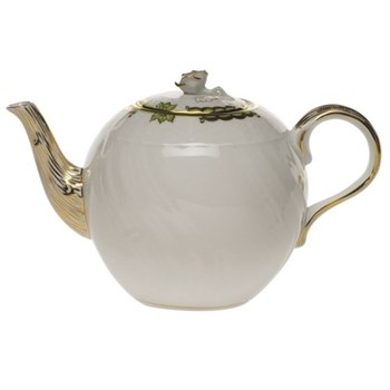 Teapot with rose handle 1.25 litre