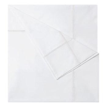 Athena Single duvet cover, 140 x 200cm, white on white