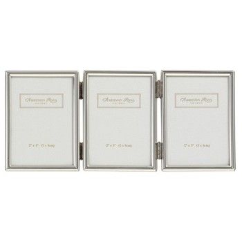 "Thin Silver Treble photograph frame, 2 x 3"", silver plate"