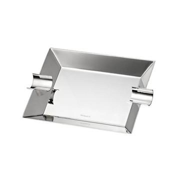 Silver club Ashtray large, 15 x 27.6cm, Christofle silver