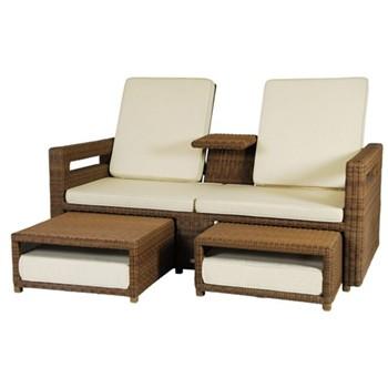 San Marino Lovers recliner, H95 x W170cm