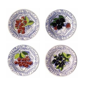 Set of 4 dessert plates 22cm
