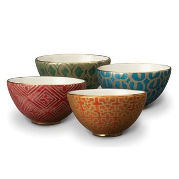 Set of 4 cereal bowls 14cm