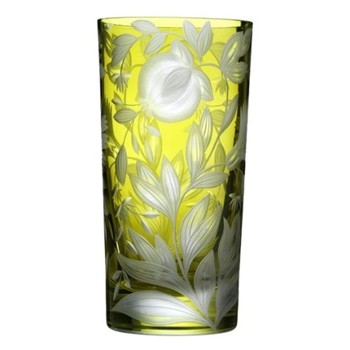 Willow Highball glass, 30cl, olive green