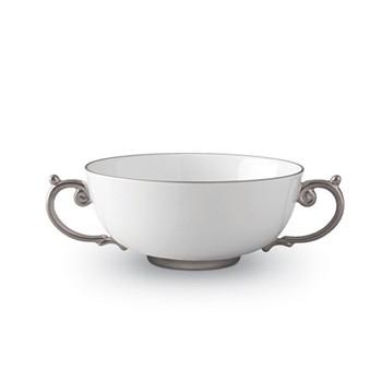 Aegean Soup bowl, 14cm, platinum