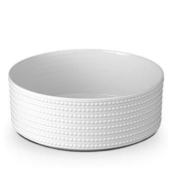 Perlee Deep bowl, 30cm, white